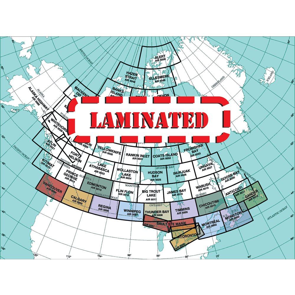 Gander VNC Laminated, 29th Edition - Air 5012