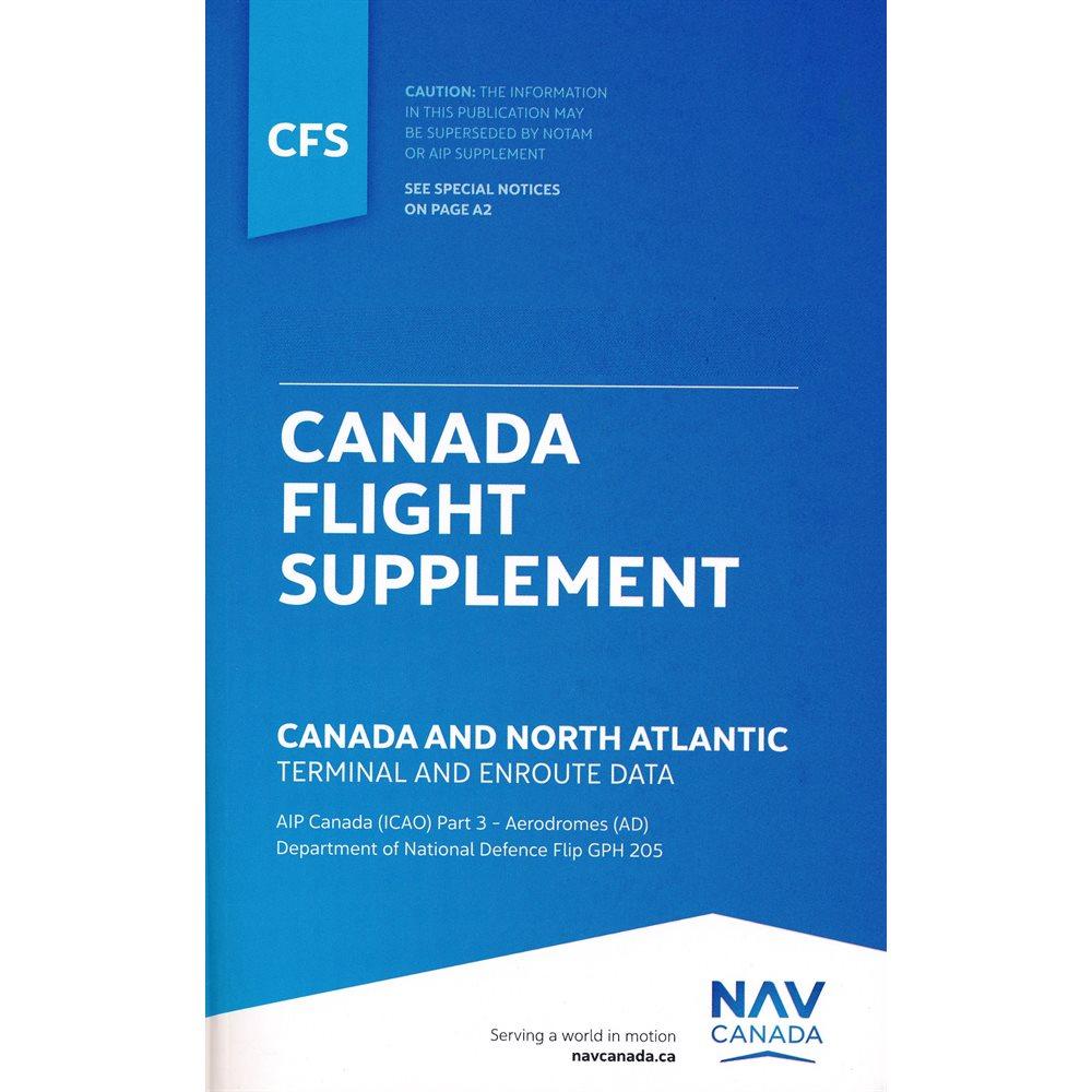 Canada Flight Supplement CFS- ENGLISH