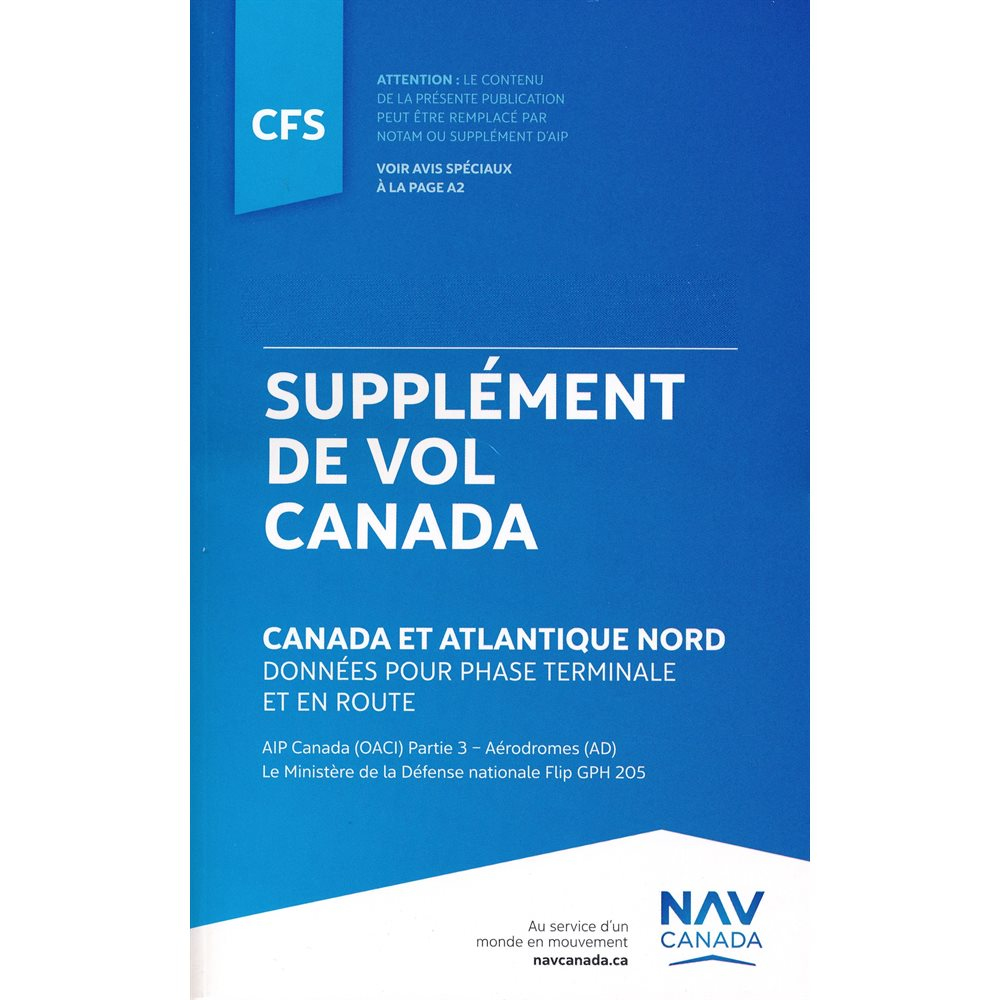 Canada Flight Supplement - BILINGUAL