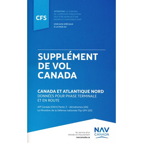 Canada Flight Supplement - CFS BILINGUAL
