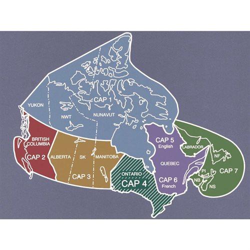 CAP 3 - CANADA AIR PILOT - AB, SK, MB - Clearance