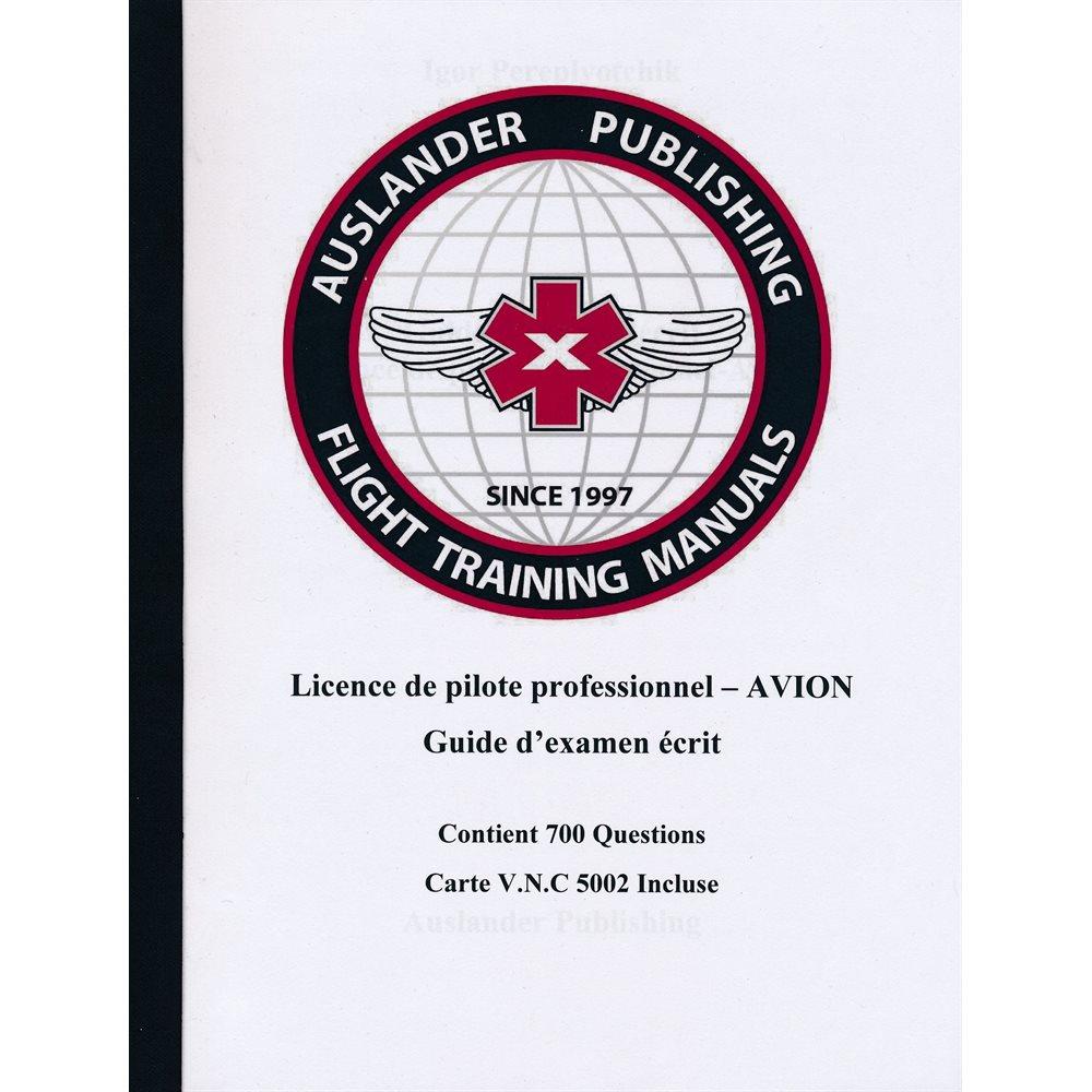 Guide d'examen ecrit pour le pilote professionnel - Auslande