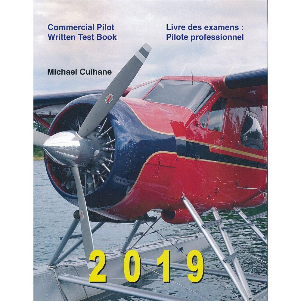 Culhane Commercial Pilot Written Test Book - Bilingual