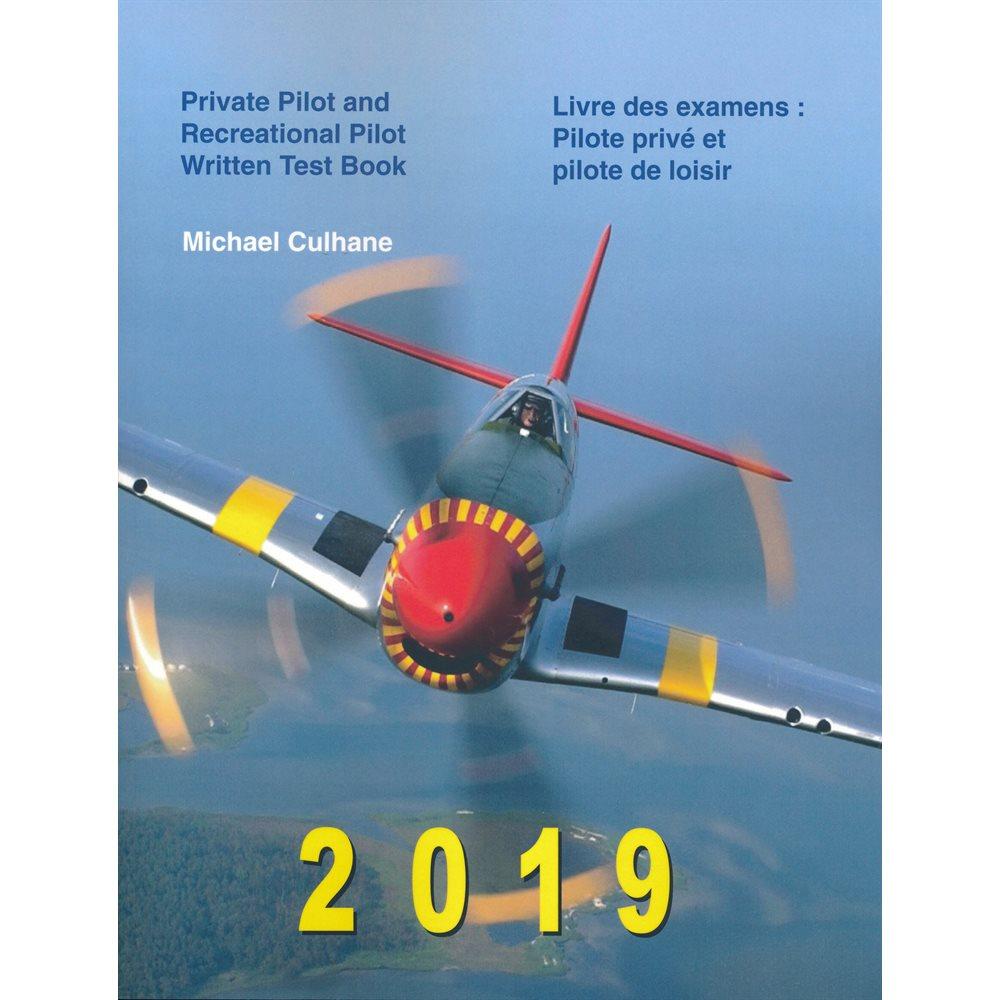 Culhane Private Pilot Pilot Written Test Book - Bilingual