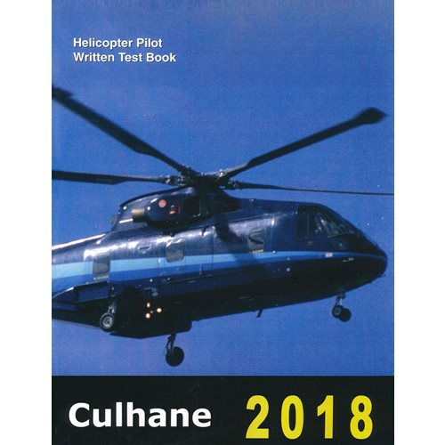 Culhane Helicopter Pilot Written Test Book 2018 - Clearance