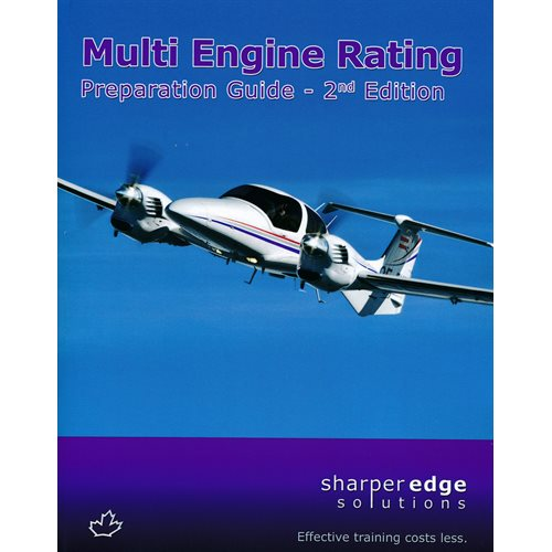 Multi - Engine Prep Guide SharperEdge 2nd Edition - Clearance