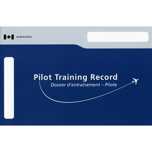 Pilot Training Record  PTR - Aeroplane