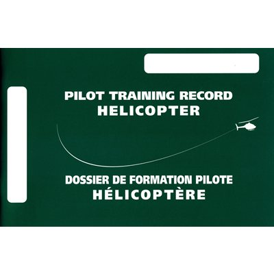Pilot Training Record  PTR - Helicopter