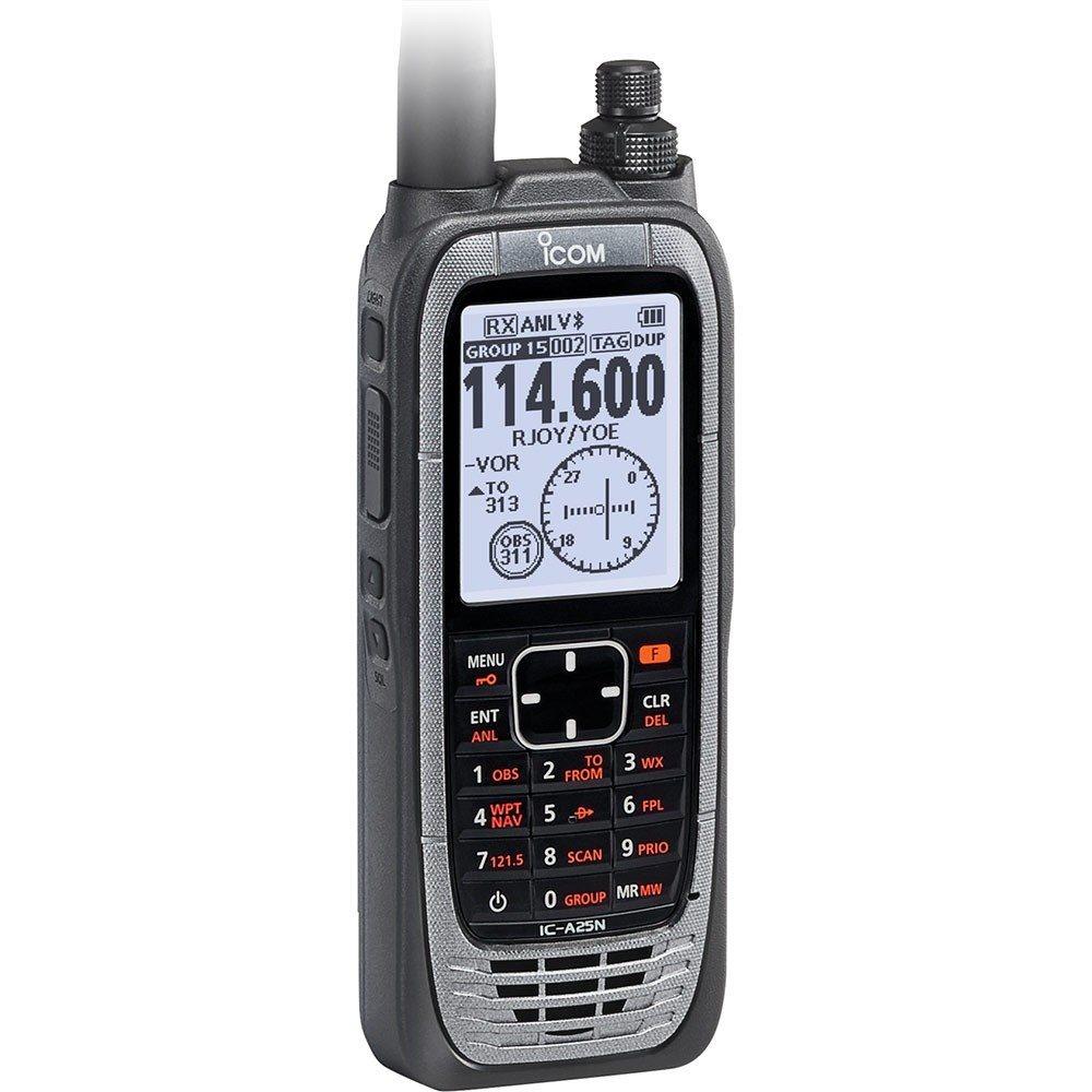 Icom A25N Handheld NAVCOM Radio