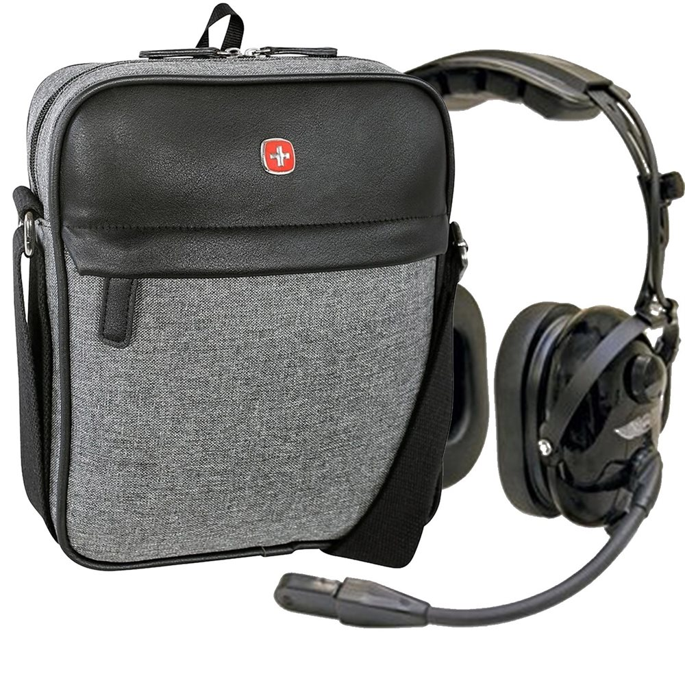 ASA HS-1a Headset Combo with Headset Bag