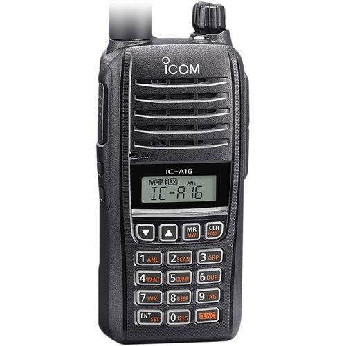 Icom A16 Radio - Keyboard
