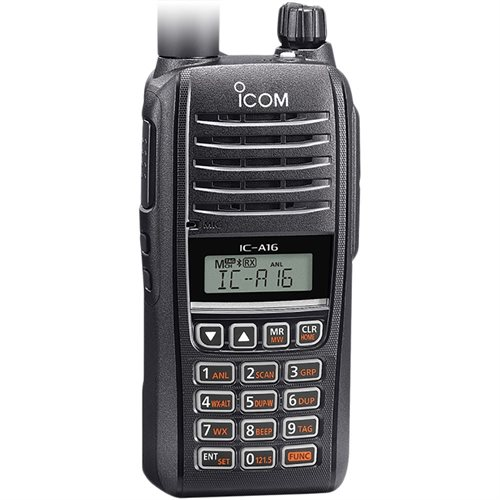 Icom A16 Radio - Bluetooth