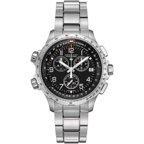 X-Wind Chrono Quartz GMT Stainless - Clearance