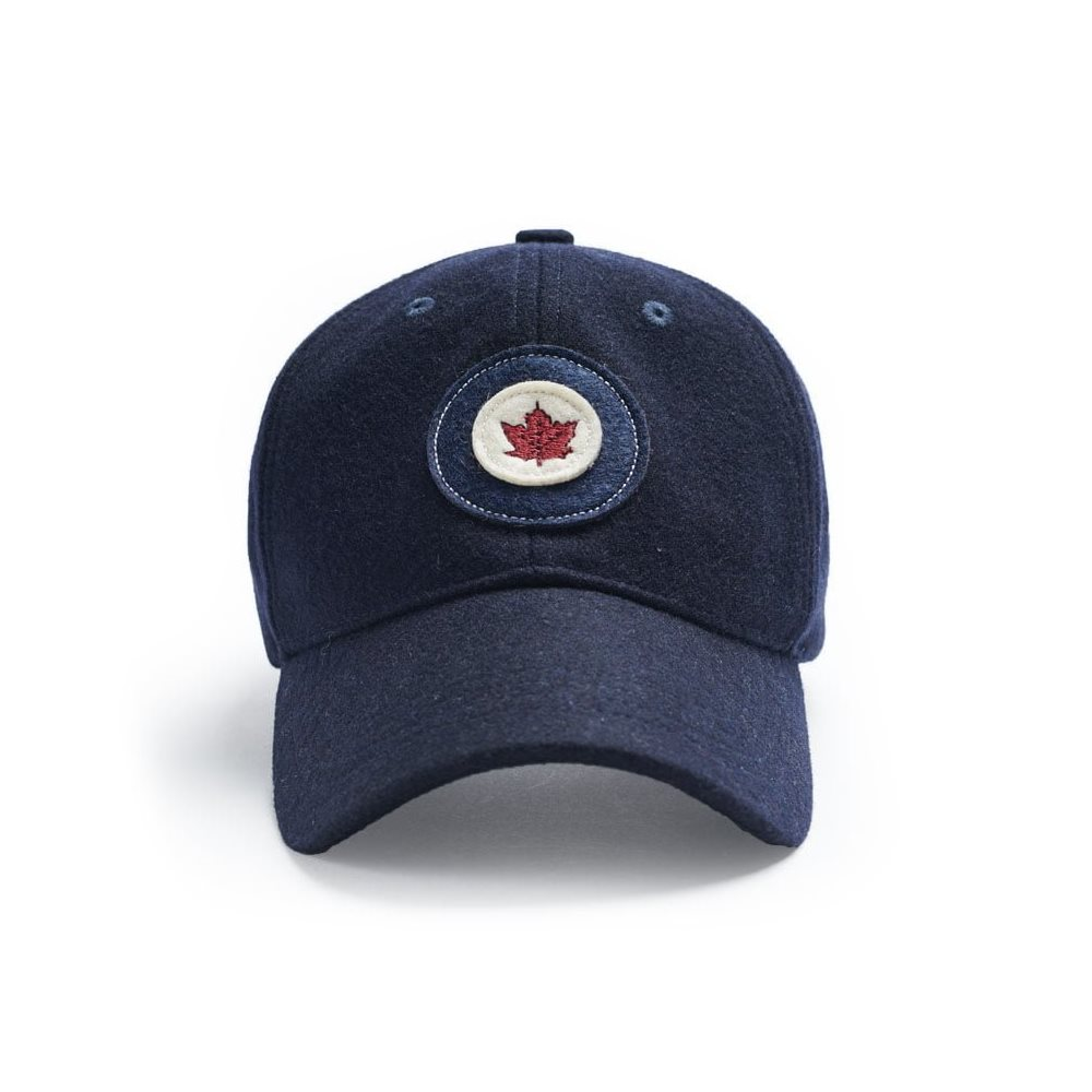 RCAF Wool Cap Navy