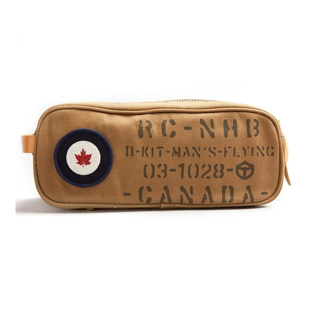 RCAF Toiletry Kit Tan - Clearance