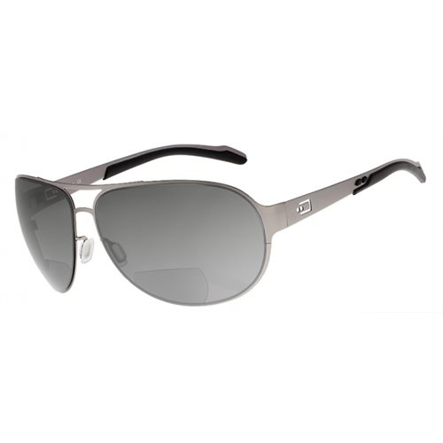 Dual AV2 Sunglasses Gray Lens with Readers (+1.5)
