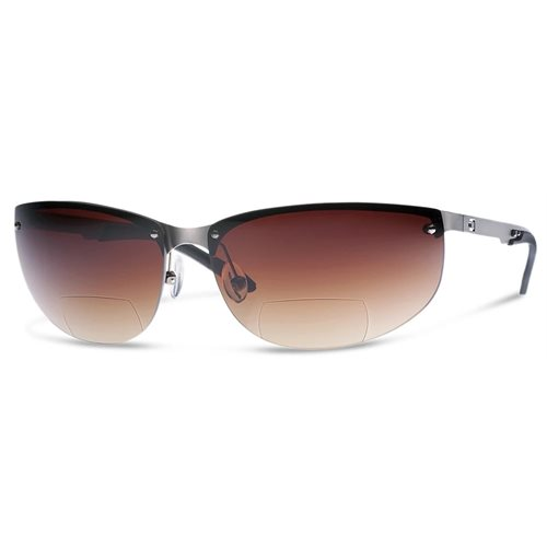 Dual AV2 Sunglasses Smoke, +2.5 Reader  /  Magnification