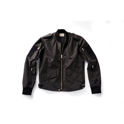 Charcoal Flight Jacket