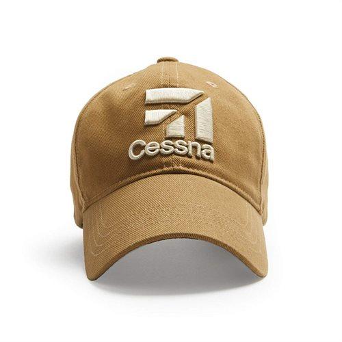 Cessna 3D Logo - Tan