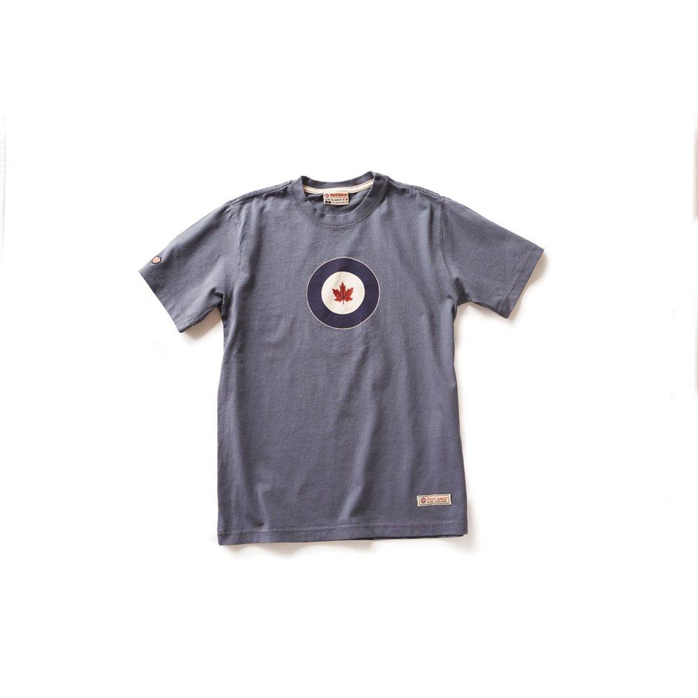 RCAF T-Shirt Washed Blue