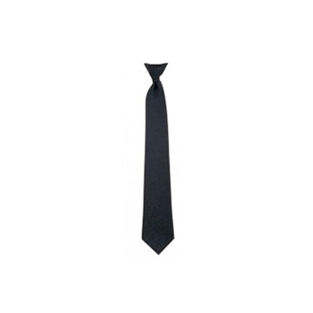 "Pilot Tie Black - Clip-On 18"""