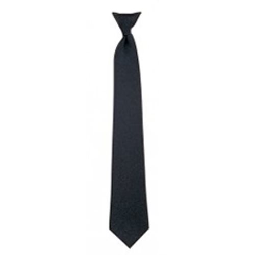 "Clip-On Necktie 18"" - Black"