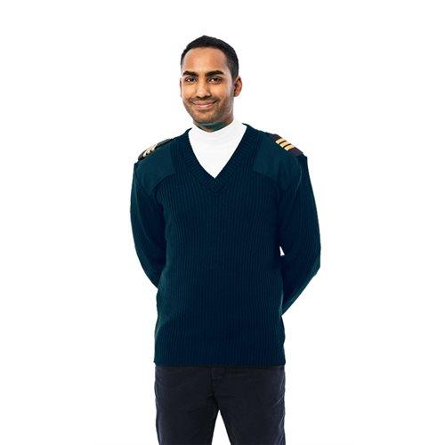 Pilot Sweater Blue
