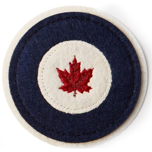 """Woven Patch RCAF 2.5"""" - Clearance"""