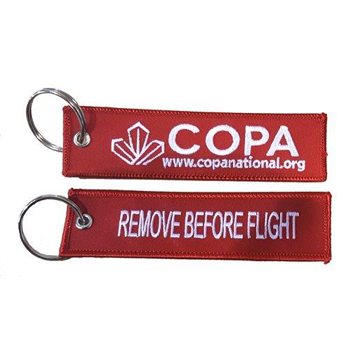 Copa - Remove Before Flight Key Chain