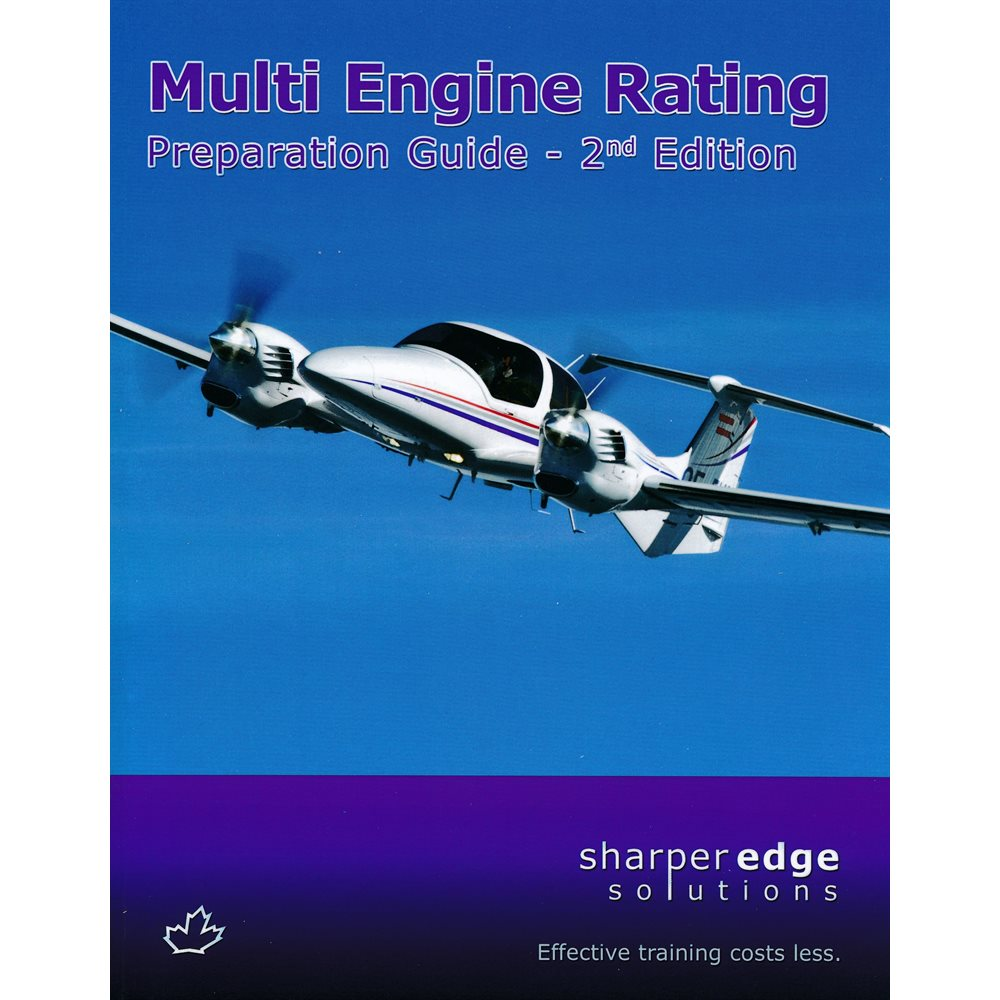 Multi - Engine Prep Guide SharperEdge - 2nd Edition