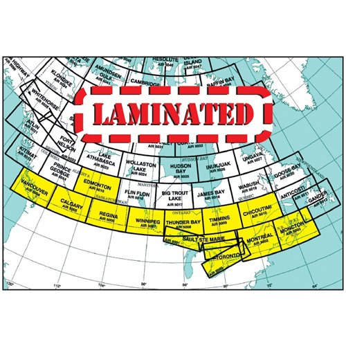 Edmonton VNC Laminated, 30th Edition - Air 5015