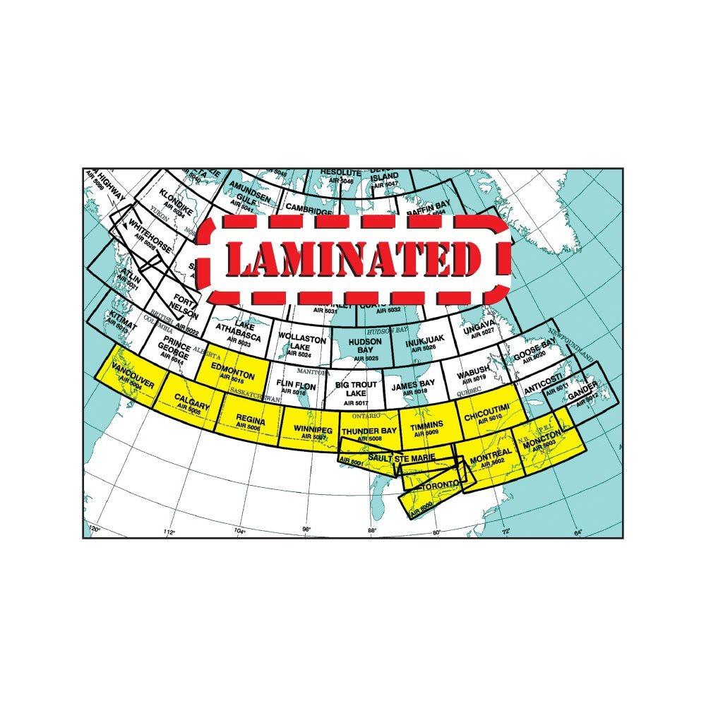 Vancouver VNC Laminated, 30th Edition - Air 5004