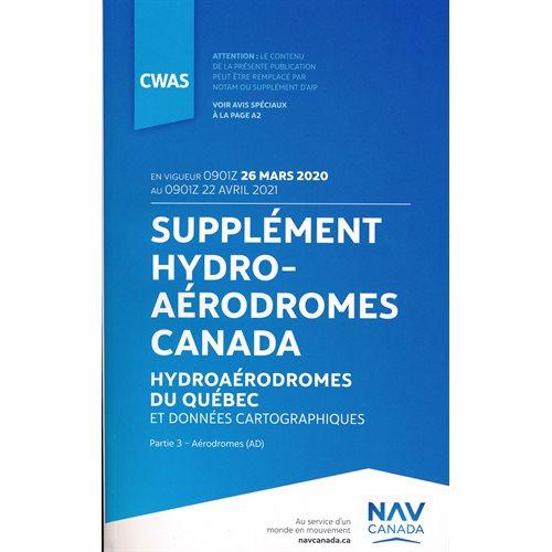 Supplément Hydroaérodromes 2020 - CWAS