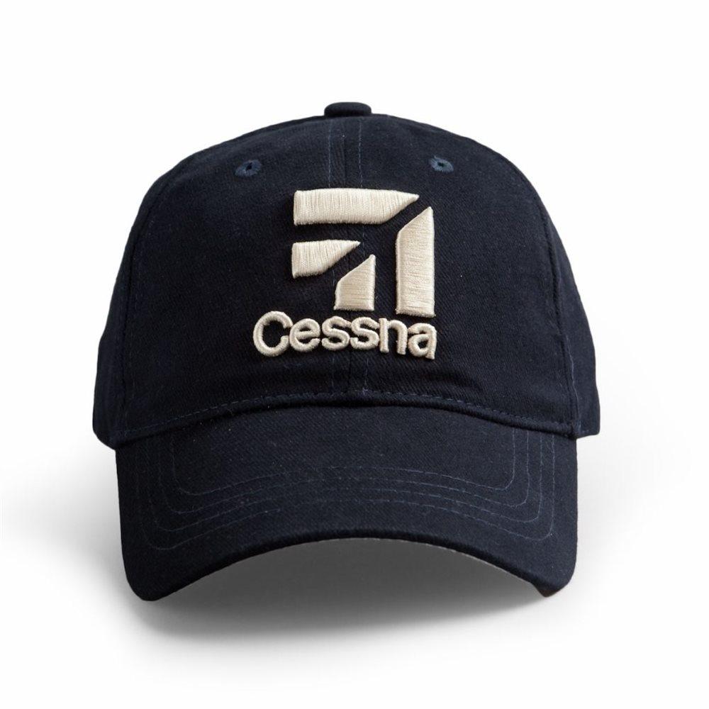 Cessna 3D Logo - Navy